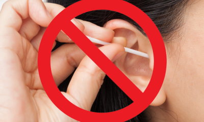 nu folosi betisoare de urechi
